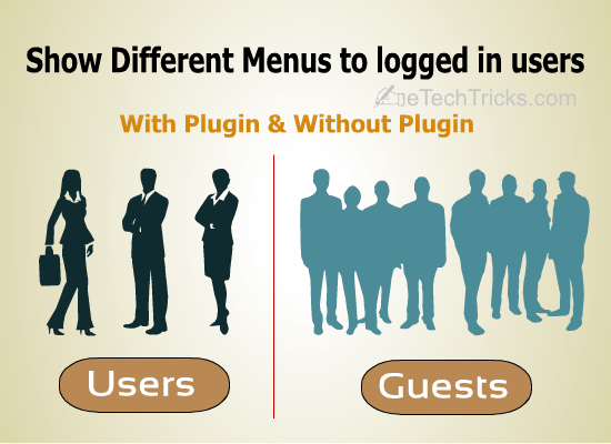 Show Different menus to Logged in WordPress Users